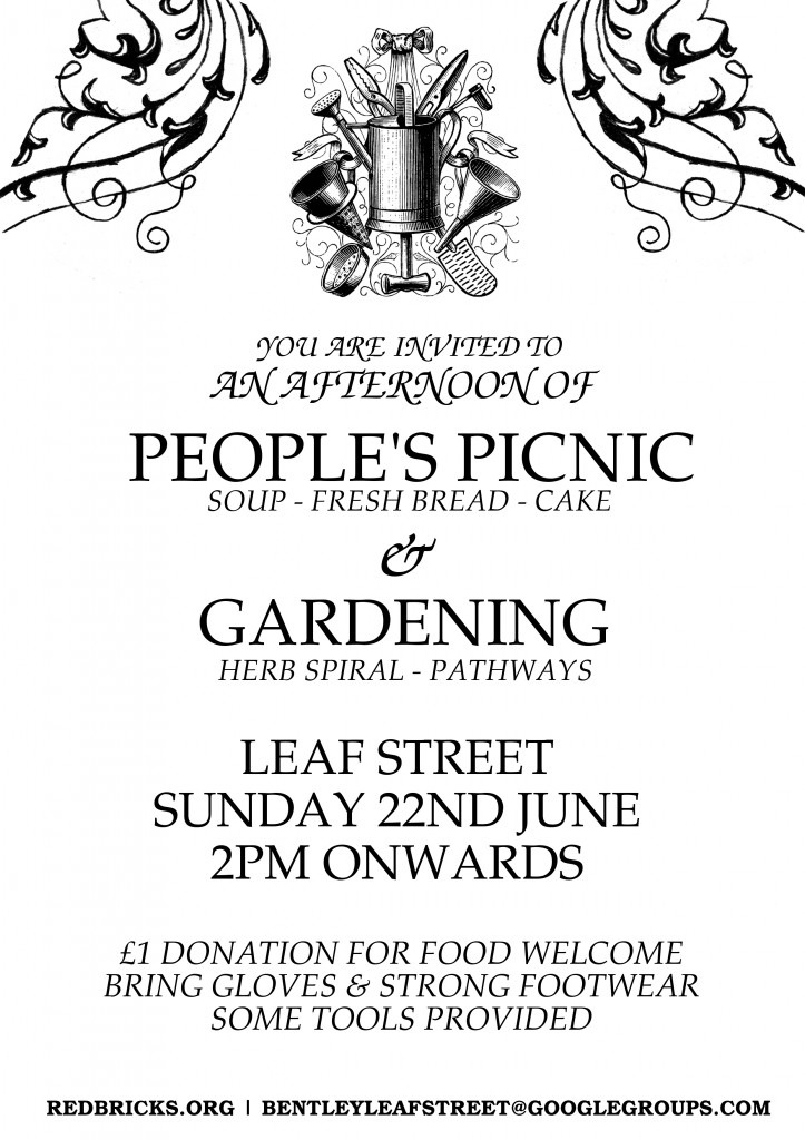 Sunday 22nd June from 2PM